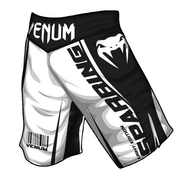 Sparring Fightshorts - Black/White