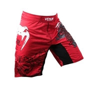 Lyoto Machida UFC 140 Fightshorts - Red