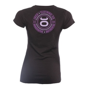 Womens Authentic Performance V Neck - Black