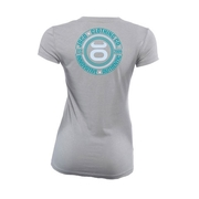 Womens Authentic Performance V Neck - Silverlake