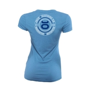 Womens Authentic Performance V Neck - Indie Blue