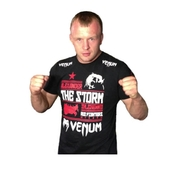 RUSFIGHTERS Tshirts - Black