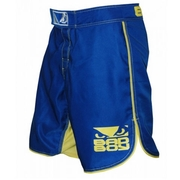 MMA Shorts - Blue/Yellow