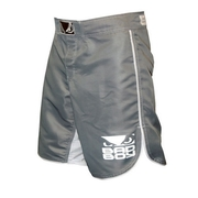 MMA Shorts - Grey/White