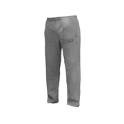 Open Hem Cotton Joggers - Grey