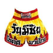 Red Flames Muay Thai shorts